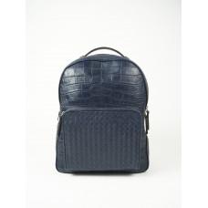 Рюкзак с плетеным карманом