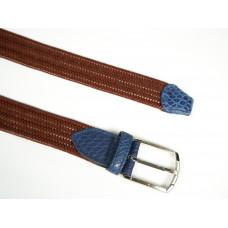 Ремень мужской плетеный