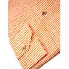 Сорочка мужская с контрастным воротом